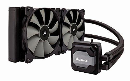 CORSAIR Hydro Series H115i AIO Liquid CPU Cooler, 280mm Radiator, Dual 140mm SP Series PWM Fans, Advanced RGB Lighting and Fan Software Control