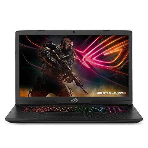 ASUS ROG Strix Scar Edition Gaming Laptop, 17.3' 120Hz 3ms Full HD, Intel Core i7-8750H Processor, NVIDIA GeForce GTX 1060 6GB, 16GB DDR4, 256GB PCIe SSD + 1TB FireCuda, Windows 10 - GL703GM-DS74