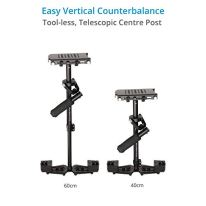 FLYCAM-HD-3000-Handheld-Video-Camera-Stabilizer-with-Quick-Release-Plate-and-Table-Clamp-8-Lbs-Capacity