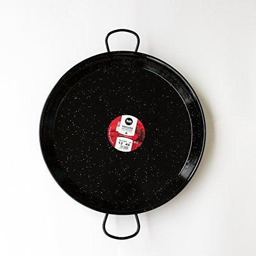 Paella-Pan-Enamelled-Carbon-Steel-18-Inch-46cm-Serving-12-people