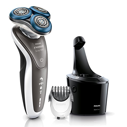 Philips Norelco Shaver 7700 for Sensitive Skin, S7720/85,Standard Packaging