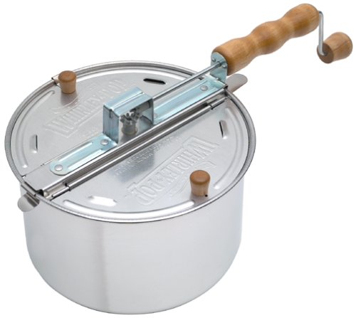 Wabash Valley Farms Whirley-Pop Stovetop Popcorn Popper