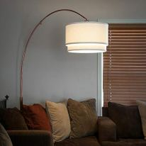 Brightech-Mason-Arc-Floor-Lamp-with-Unique-Hanging-Drum-Shade-for-Living-Room-Matches-Your-Decor-Arching-Over-the-Couch-From-Behind-This-Standing-Pole-Light-Gets-Compliments-Bronze