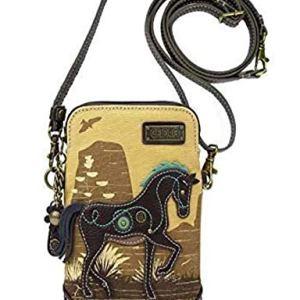 Chala Crossbody Cell Phone Purse-Women Multicolor Handbag with Adjustable Strap