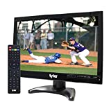 Tyler TTV705-14 14' Portable Battery Powered LCD HD TV Television with HDMI, USB, RCA, and SD Card Inputs