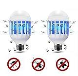 Lixada 2 in 1 Electronic Bug Zapper Light Bulb