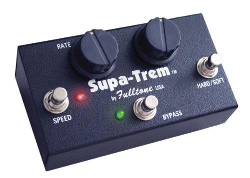 Fulltone ST-1 Supa-Trem Tremolo Guitar Effects Pedal Black