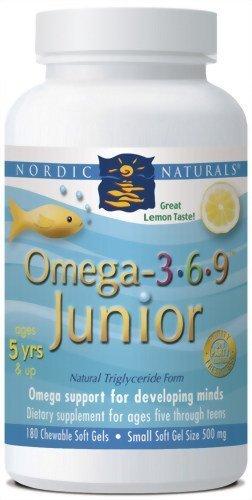 NORDIC NATURALS OMEGA 3.6.9. JUNIOR 360
