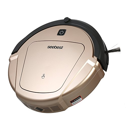 Decdeal seebest D750 Smart Robotic Cleaner Automatic Rechargeable Robotic Vacuum Cleaner