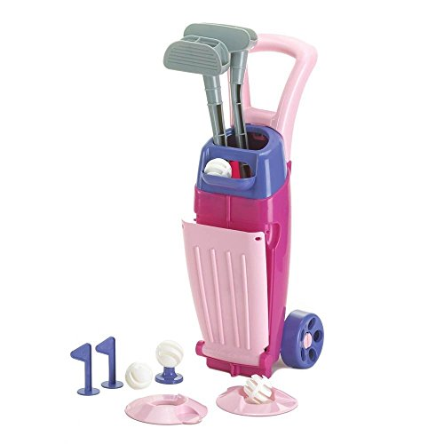 American Plastic Toys Junior Pro Girl's Golf Set, Pink