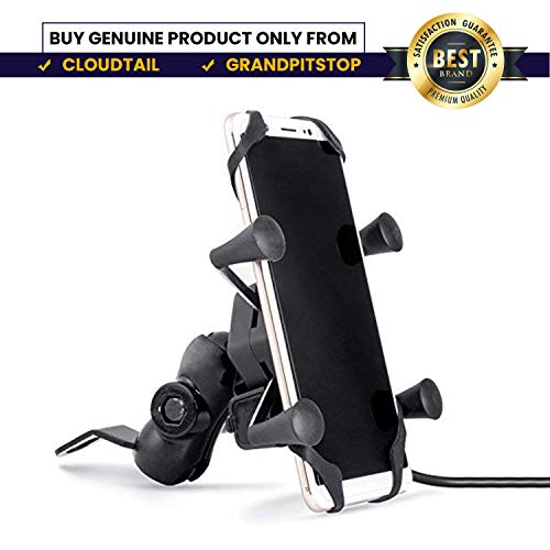 USB Charger for Bike With X Grip Mobile Holder