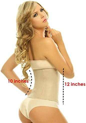 Lady Slim Fajas Colombianas Reductoras Y Moldeadoras para Mujer Latex Waist Trainer Cincher Shaper for Women 2