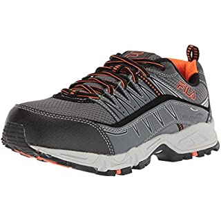 Fila Menโ€™s Memory At Peake Composite Toe Work Shoe How Often To Replace Running Shoes]