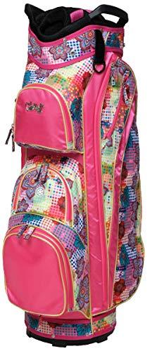 Glove It Women's Golf Bag Ladies 14 Way Golf Carry Bag - Golf Cart Bags for Women - Womens Lightweight Golf Travel Case - Easy Lift Handle - 2019 Bloom