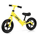 Leting Ultra-Light Balance Bike (4.4 lbs) for Ages 18month to 5 Years | Super Sport Push Bicycle for 2, 3 & 4 Year Old Boys & Girls - Toddlers & Kids Skip Tricycles on The Lightest First Children Bike
