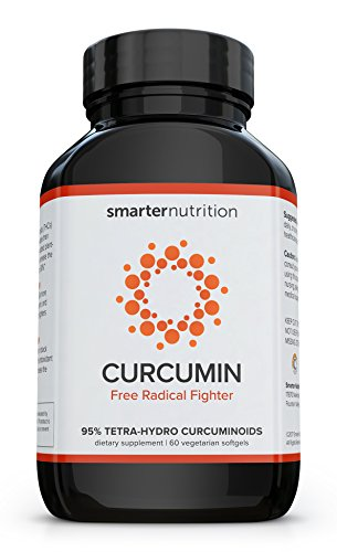 Smarter Turmeric Curcumin - Potency and Absorption in a SoftGel | The Most Active Form of Curcuminoid Found in the Turmeric Root | 95% Tetra-Hydro Curcuminoids (60 Count - 1 Month Supply)