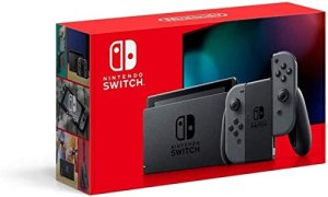 Nintendo Switch with Gray Joy‑Con – HAC-001(-01)