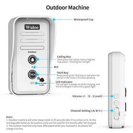 Wireless-Intercom-Doorbell-Chime-for-Home-Intercomunicador-1T2-White