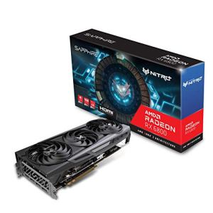 Sapphire 11305-01-20G Nitro+ AMD Radeon RX 6800 PCIe 4.0 Gaming Graphics Card with 16GB GDDR6