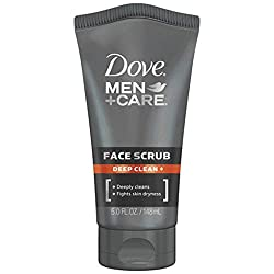 Dove Men+Care Face Scrub, Deep Clean Plus 5 oz  Image 1