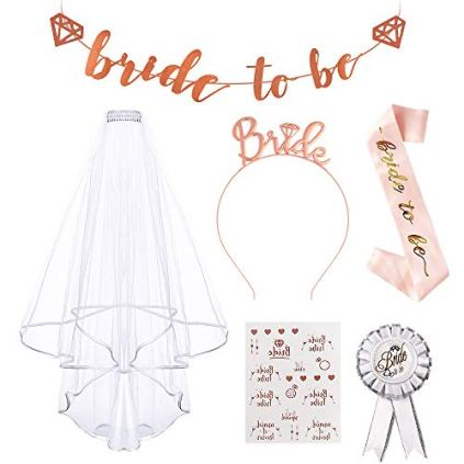 Bride-to-Be-Echarpe-Evjf-Accessoire-AivaToba-Bride-to-Be-Sash-Echarpe-EvjfBadgeSerre-Tete-Bride-Bride-to-Be-Bannire-Tatouage-pour-Bridal-Shower-Bridal-Party-Bride-Team-Decoration