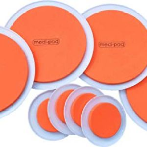 Medipaq GreatIdeas The SUPER FURNITURE SLIDERS (Genuine Original Orange Discs Moving Heavy Furniture over Carpet or Hard Surfaces Has Never Been Easier! 8 PIECE VALUE Pads PACK. 415idi8Zg6L