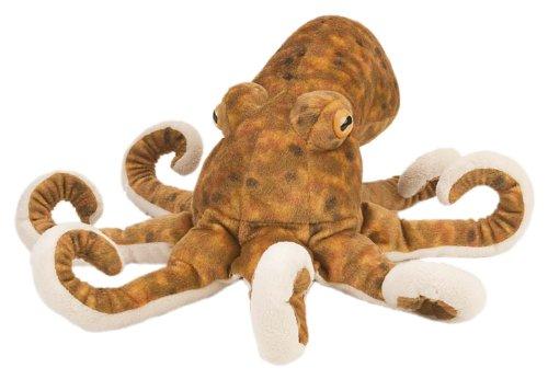 Wild Republic Octopus Plush, Stuffed Animal, Plush Toy, Gifts for Kids, Cuddlekins 12 Inches