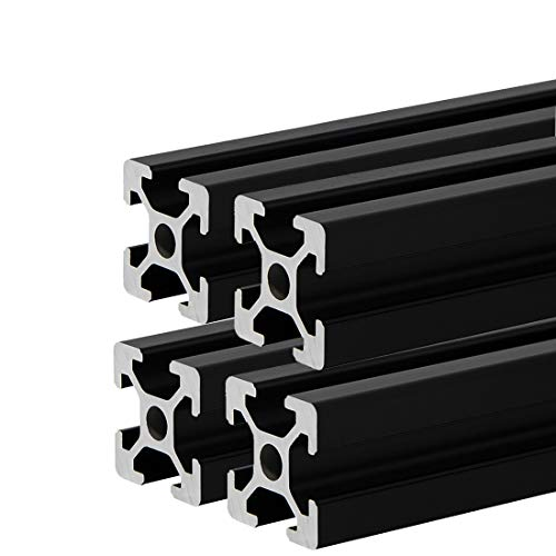 4-Pcs-2020-CNC-3D-Printer-Parts-European-Standard-Anodized-Linear-Rail-Aluminum-Profile-Extrusion-for-DIY-3D-Printer-400mm