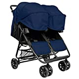 ZOE XL2 Best Double Stroller - Everyday Twin Stroller with Umbrella