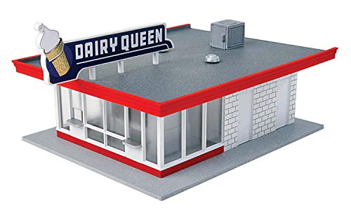 Walthers-Cornerstone-HO-Scale-Model-Vintage-Dairy-Queen-Kit-5-116-x-3-12-x-2-38-128-x-6cm