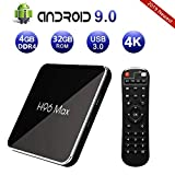 Android 8.1 TV Box ,Yongf 4GB DRR3 32GB MX10 Smart TV Box Quad-Core 4K Full HD Set Top Box Support HDMI2.0/ 100M Ethernet/ 2.4G WiFi/ USB 3.0 4K 3D Smart TV Box