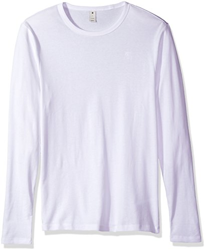 415zwbD5rPL Wear it alone or layer it up for extra warmth. A small, embroidered logo on the chest adds the g-star mark of quality The base round neck long sleeve t-shirt is crafted from premium 1X1 rib tricot with a stretchy finish