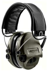 Sordin-Supreme-Pro-Noise-Reduction-Safety-Ear-Muffs-Hearing-Defender-Leather-Headband-and-Green-Cups-SOR75302-S