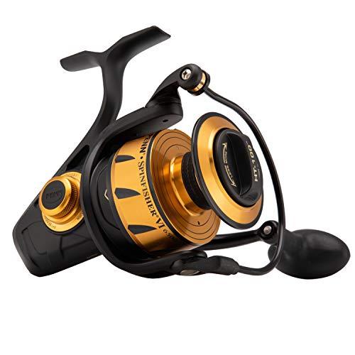 Penn, Spinfisher VI Saltwater Spinning Reel, 6500, 5.6:1 Gear Ratio, 42