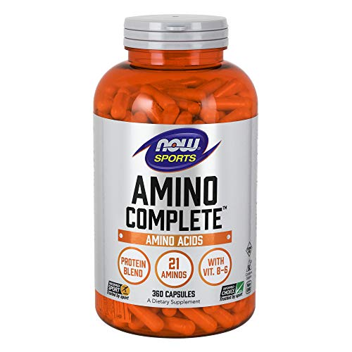 NOW Sports Nutrition, Amino Complete with Vitamin B-6, 360 Capsules