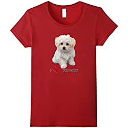 Maltese Dog Lover T-shirts Dogs Puppy Fan Gift