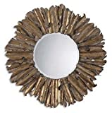 Uttermost Antiqued Gold Leaf Hemani Mirror