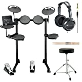 Yamaha DTX400K Customizable Electronic Drum Set with...