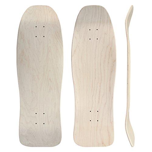 Unified Square Nose Pool Shape 10' x 31' - 16' Wheelbase Skateboard Deck
