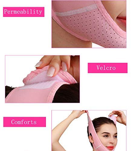 V Line Face Lift for Women Eliminates Sagging Skin Lifting Firming Anti Aging, Facial Slimming Strap, Pain Free Face Lifting Belt, Double Chin Reducer 4