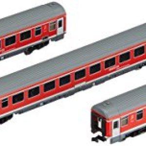 Arnold HN4203 3-Piece Set München-Nuremberg Express of DB AG Epoche VI Model Railway Traffic Red 416Mv26z90L