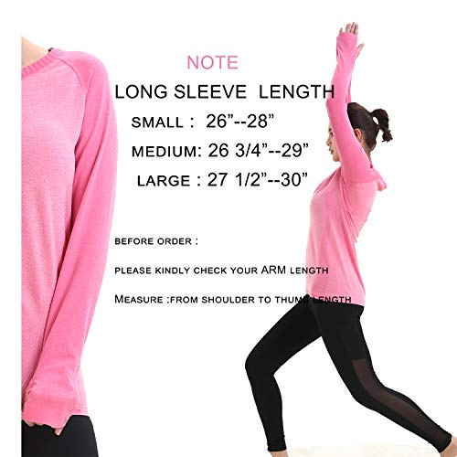LWJ 1982 Dry Fit Long Sleeve Workout Active Running Shirts Yoga Exercise Tops Hiking Athletic Clothes Women Tee 18 Fashion Online Shop gifts for her gifts for him womens full figure