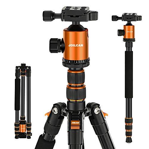 Joilcan 80-inch Tripod for Camera, Aluminum Tripod for DSLR,Monopod,...