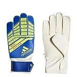 adidas Predator Junior Goalkeeper Glove Football Blue/Bold Blue/Solar Yellow, 6