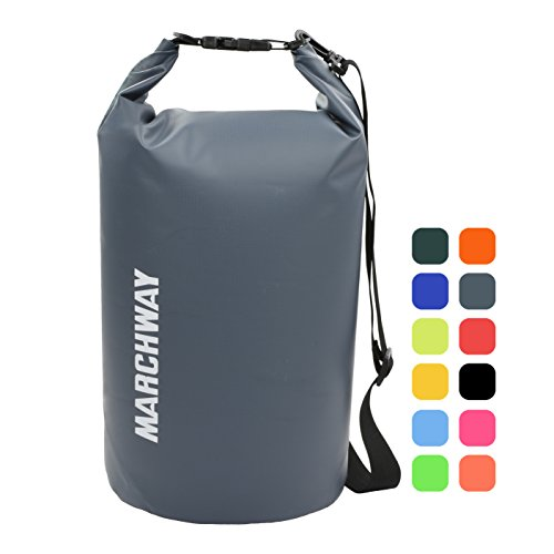 MARCHWAY Floating Waterproof Dry Bag Backpack