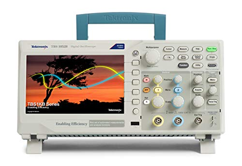 Tektronix TBS1052B Digital Storage Oscilloscope, 2 Channel, 50 MHz Bandwidth, 5 Year Warranty