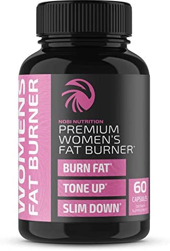 Nobi Nutrition Premium Fat Burner for Women - Thermogenic Supplement, Carbohydrate Blocker, Metabolism Booster an Appetite Suppressant - Healthier Weight Loss - Energy Pills - 60 Capsules 3