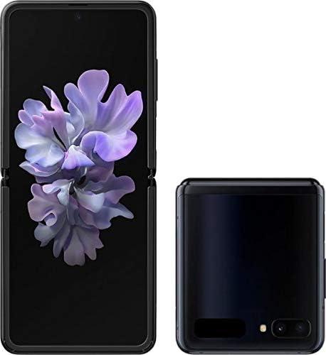Amazon Com Samsung Galaxy Z Flip Factory Unlocked Cell Phone Us Version Single Sim 256gb Of Storage Folding Glass Technology Long Lasting Battery Mirror Black