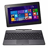 ASUS Transformer Book T100TAF-B1-MS - 10.1' Touchscreen 2-in-1 Laptop/Tablet Combo - Windows 8.1 / Intel Atom / 2GB RAM / 32GB eMMC / Intel HD Graphics / WiFi / Webcam