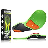 Snapsmile Shoes Insoles for Men and Women - Scientifically Proven Design High Arch Support Orthotic Shoe Inserts Plantar Fasciitis Inserts Super Support Shoe Inserts Men Women - L